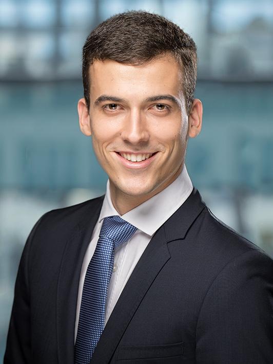 Mitarbeiter Sandro Reuss